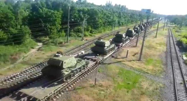 Телемост с РФ: Путин использовал ситуацию для переброски эшелонов смертоносной военной техники в «ЛДНР» - Girkin