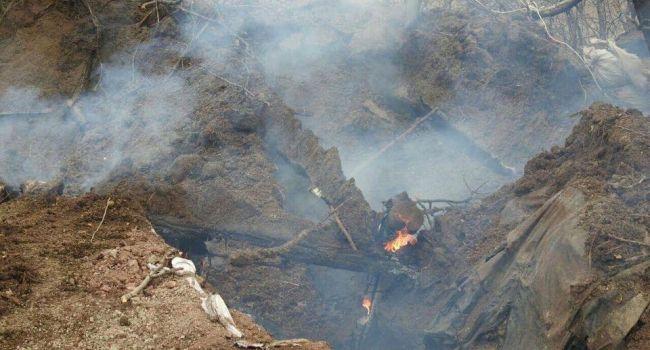«Сгорело все дотла, тяжелые ожоги»: боец ВСУ показал последствия боя с террористами Донбасса