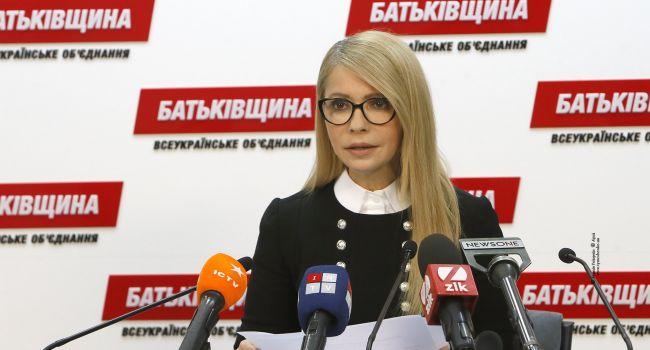 Тимошенко в растерянности: рейтинг «Батькивщины» рухнул