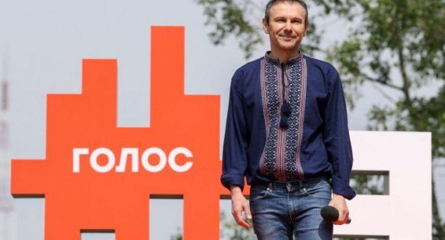 Партия Вакарчука выпала из борьбы за места в парламенте