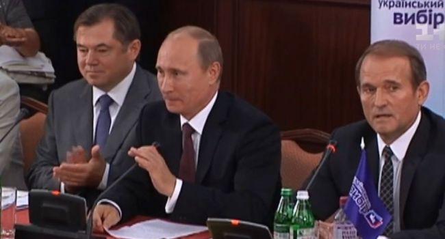 Должно произойти сближение России и Украины: Медведчук заявил, что без Кремля невозможно достичь мира на Донбассе