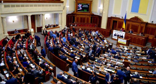 Определилась пятёрка главных кандидатов на места в обновлённом парламенте