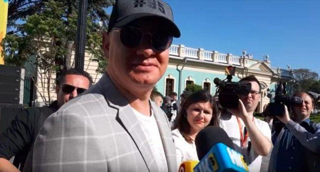 Журналист: так можно долюстрироваться до того, что на всю государственную машину останется один Женя Кошевой, Дубинский и Винник