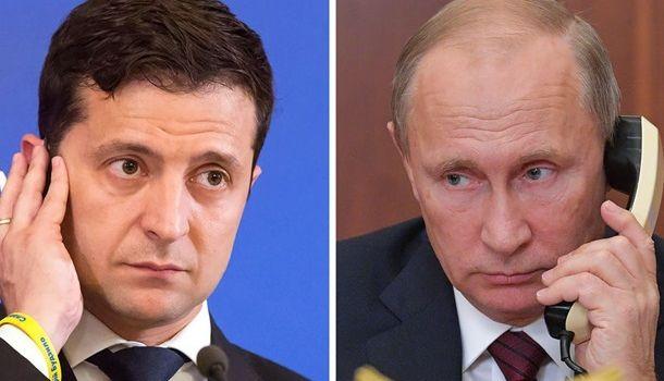 Зеленский раскрыл подробности своего разговора с Путиным