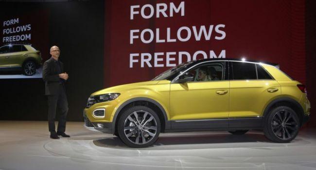 Компания Volkswagen официально презентовала в Украине кроссовер T-Roc