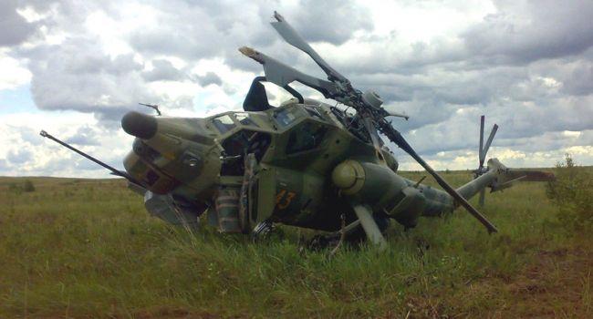 ЧП в Сумской области: вблизи Яблочного упал вертолет, есть жертвы