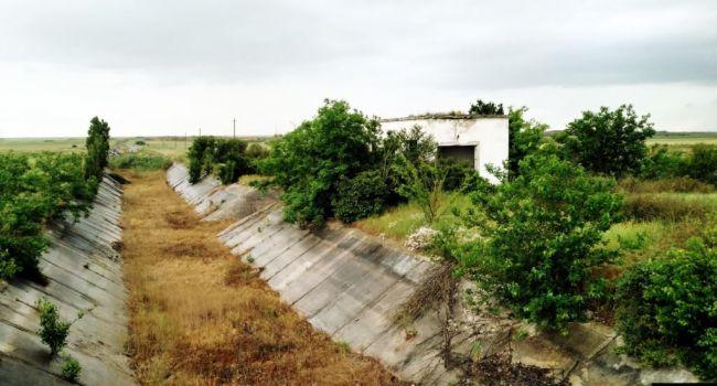 В Крыму огромные орошаемые поля находятся на грани превращения в пустыню