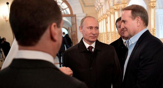 Портников назвал главное разногласие Путина и Медведчука из-за которого конфликт с РФ не будет решен