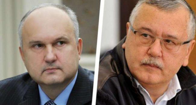 Пастернак: Гриценко понимает - ему нужно показать себя уверенным, сильным нападающим, поэтому он и критикует Смешко