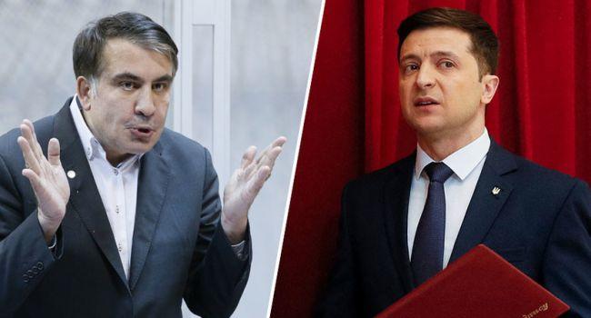 Саакашвили рассказал о взаимоотношениях с Зеленским