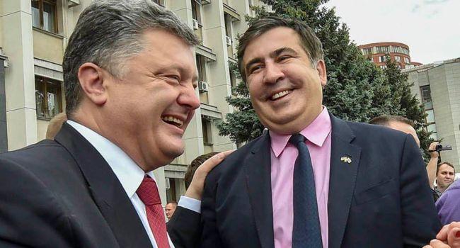 Саакашвили о Порошенко: Посадите его!