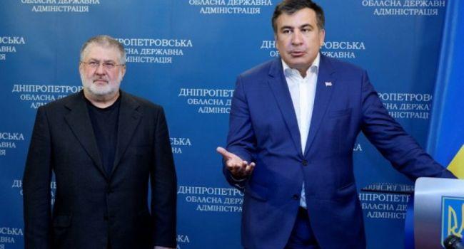 Саакашвили отрицает тесное взаимодействие с Коломойским