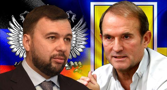 «Пушилин приземлил кума Путина»: в преддверии выборов главарь «ДНР» выставил Медведчука лжецом