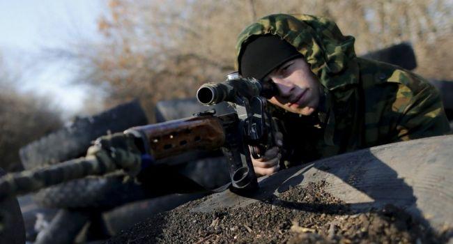 Российский снайпер на Донбассе убил двух украинских военных – пресс-служба ООС