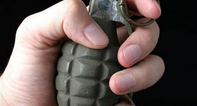 Возле ВРУ задержан мужчина, имеющий при себе гранату