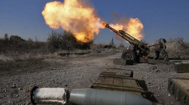Боевики обложили огнем позиции ВСУ по всей линии фронта в ООС из запрещенной артиллерии