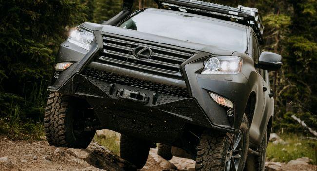 Появилась версия Lexus GX для настоящего бездорожья