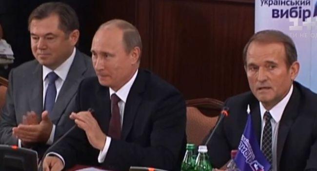 «Их беспокоит второе место Медведчука, которого поддерживали по время предвыборной кампании»: в РФ рассказали о провале Путина по Украине