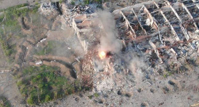Этот кошмар «русский мир» запомнит навсегда: боец ООС обнародовал кадры уничтожения террористов