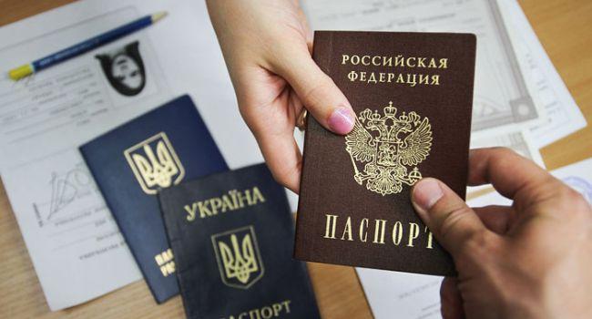 В РФ озвучили количество заявок на получение российских паспортов в ОРДЛО