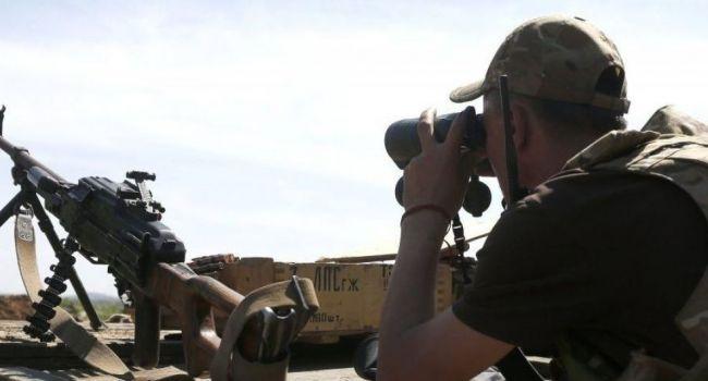 Режим тишины: боевики обстреляли позиции ВСУ из запрещенного вооружения