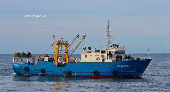 КНДР захватила судно РФ с 15 россиянами на борту