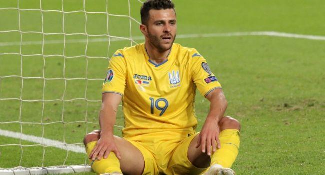 «Рома» заинтересовалась нападающим сборной Украины