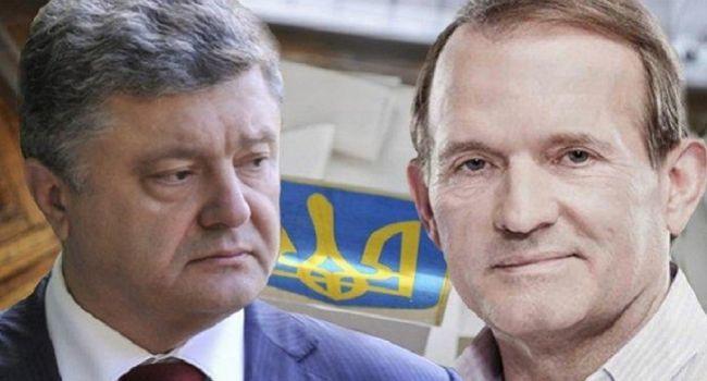Порошенко и Медведчук не боятся Зеленского, и выжидают момент для того, чтобы нанести сильный удар - Небоженко