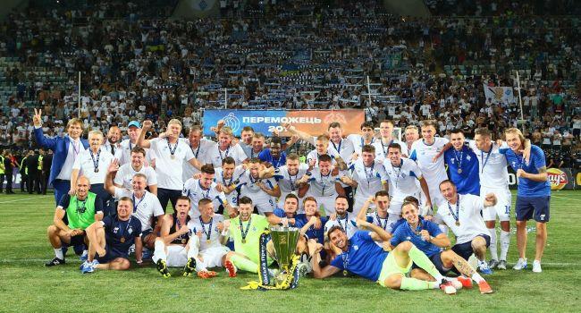 «Динамо» завоевало Суперкубок Украины, одержав волевую победу над «Шахтером»