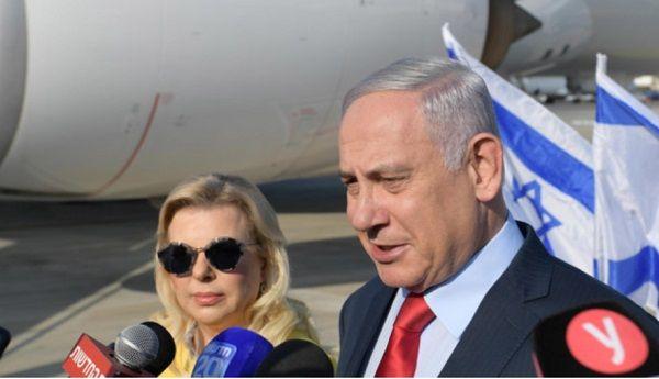 Супруга Нетаньяху угодила в скандал во время полета в Украину