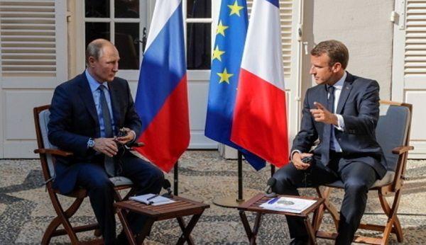 «Невооруженным глазом французско-российский засос»: Цимбалюк заявил о предательстве Макроном Украины