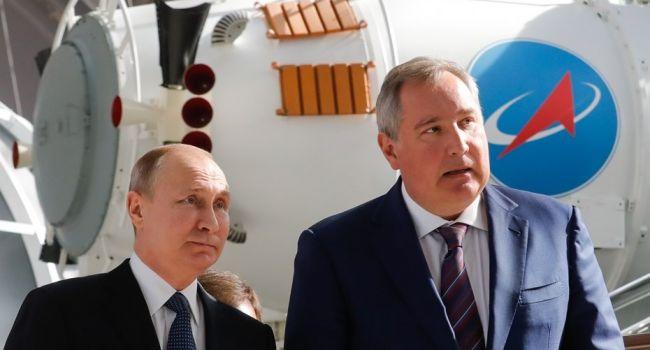 Рогозин поведал Путину ополете робота «Фёдора» наМКС