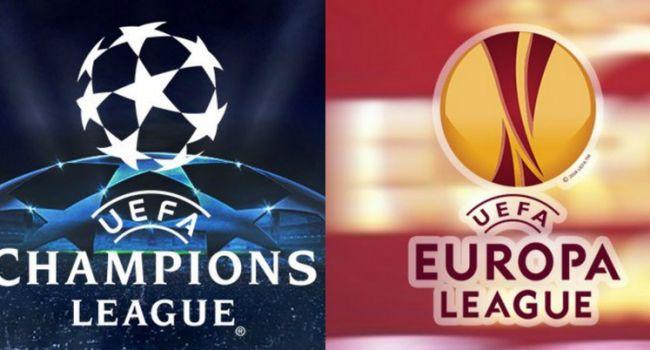 Украинские футбольные клубы узнали своих потенциальных соперников в еврокубках