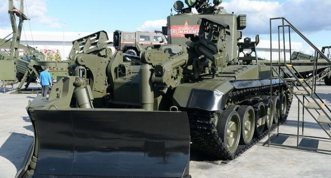 Путин перебросил на Донбасс инженерную технику для наступления войск - InformNapalm