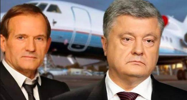 Гордон: Порошенко и Медведчук — это финансовые партнеры и давние политические друзья, однако открыто сотрудничать в парламенте они не будут