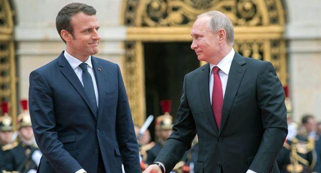 Макрон снова будет говорить с Путиным об Украине без Украины