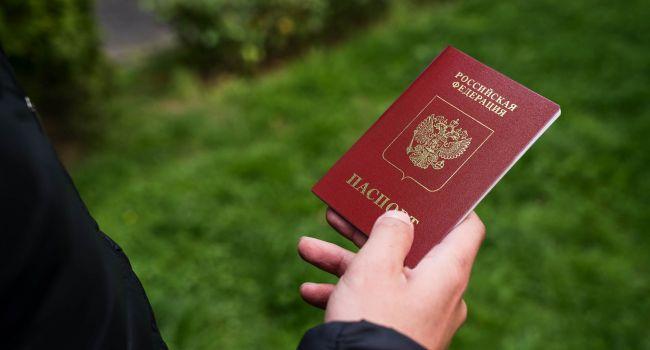 В России назвали точное число жителей Донбасса, подавших документы на получение паспортов РФ
