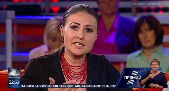 София Федына – «уставшим от войны»: вы зажрались, потому что по вам не «фигачат» 120-ми