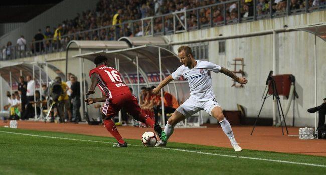 «Заря» прошла в следующий квалификационный раунд ЛЕ, минимально обыграв болгарский ЦСКА в ответном поединке