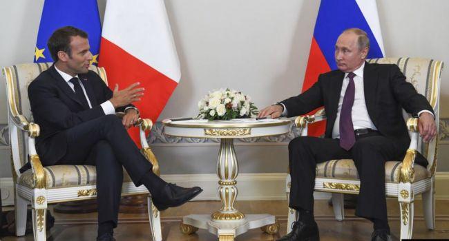 Война на Донбассе: Путин и Макрон обсудят агрессию РФ в Украине