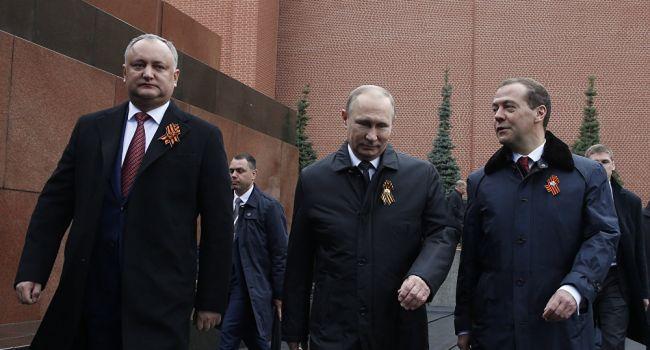 Додон едет к Путину за скидками на газ