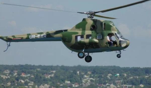 ЧП во Львовской области: на аэродроме потерпел крушение военный вертолет «Ми-2»