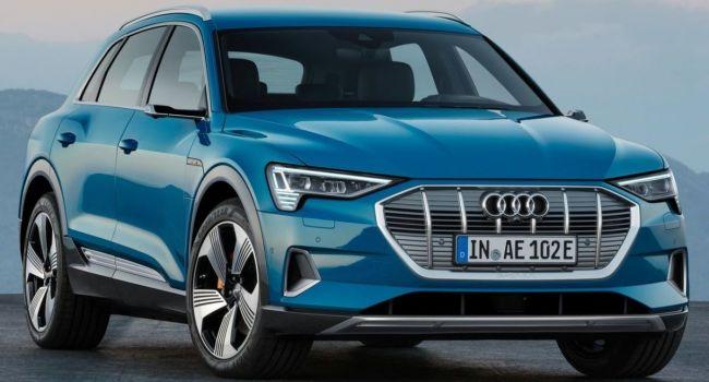 Audi E-Tron признали самым безопасным электрокаром в мире