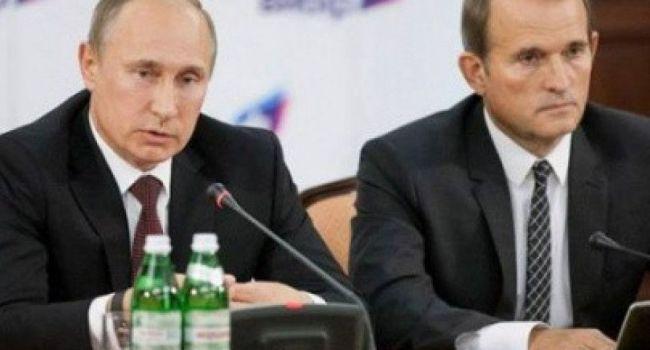 «Пустослов» Медведчук теряет свой авторитет в Кремле, Путин в отчаянии – российский политик