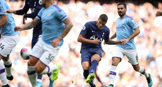 «Манчестер Сити» и «Тоттенхэм» сыграли вничью в центральном матче 2-го тура АПЛ