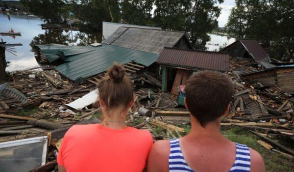 В РФ хотят снести свыше 4 тысяч пострадавших от наводнения домов