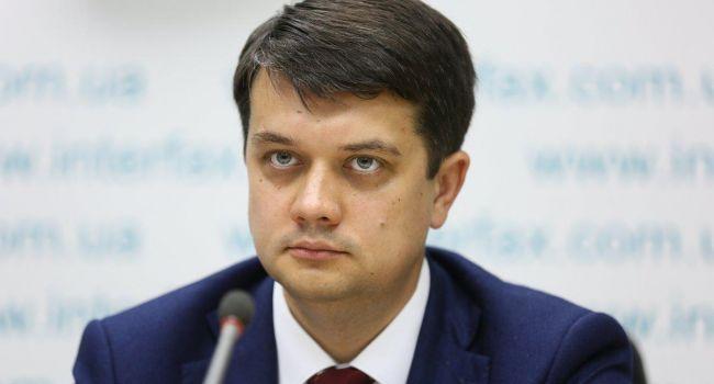«Барыг» нет, но война продолжается: Разумков признал, что конец войны на Донбассе еще не скоро