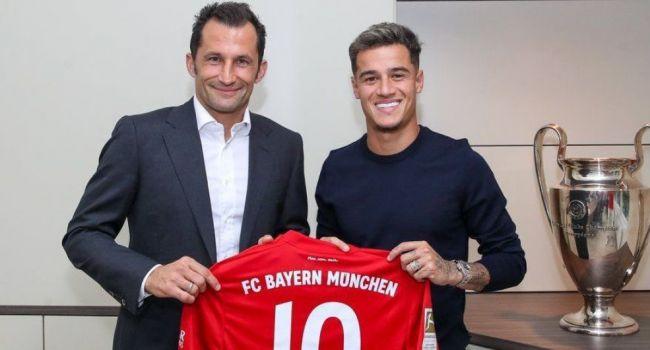 «Бавария» договорилась с «Барселоной» об аренде Коутиньо с правом выкупа