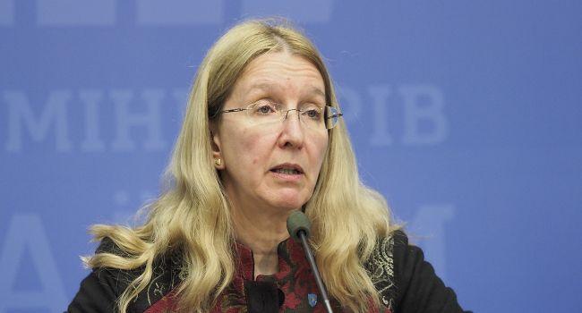Супрун заявила, что Разумков плохо ориентируется в медреформе, и посоветовала лидеру «Слуги народа» взвешивать каждое сказанное слово