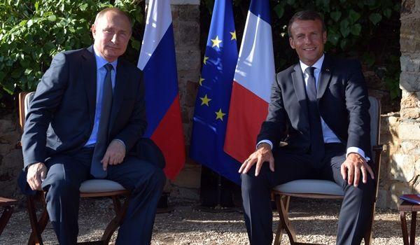 Мир в Украине – прежде всего! Макрон предъявил Путину жесткое условие